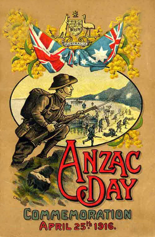 ANZAC Day Commemoration 25 April 1916